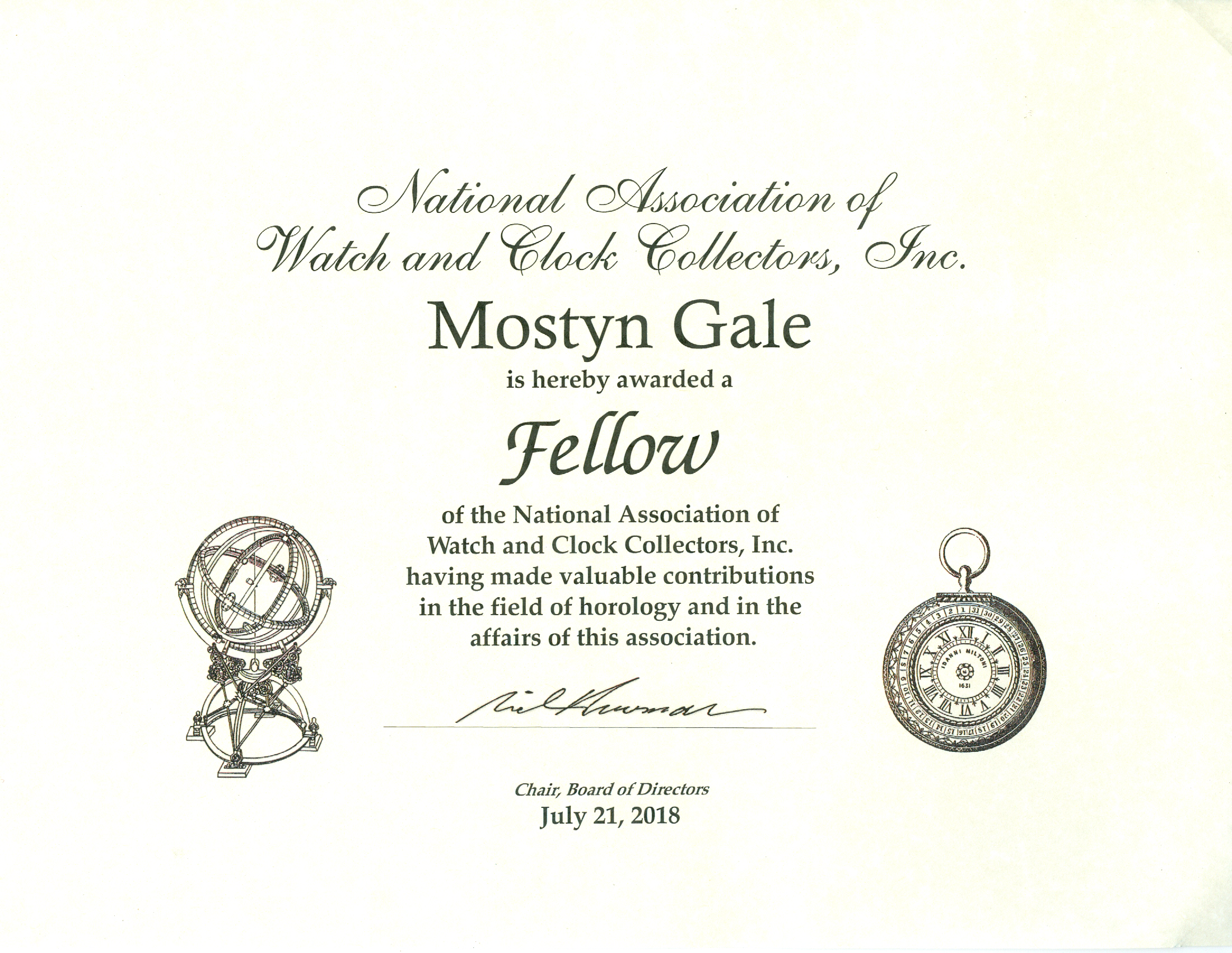 Fellow Certificate